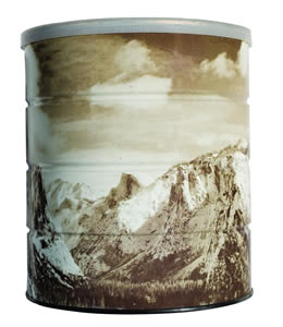 Hills Brothers Coffee Can - Yosemite Valley Winter