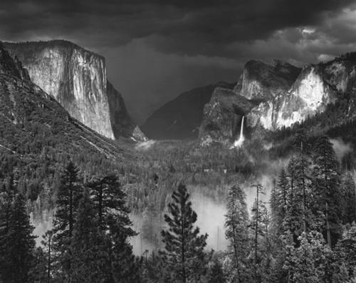 Thunderstorm, Yosemite Valley