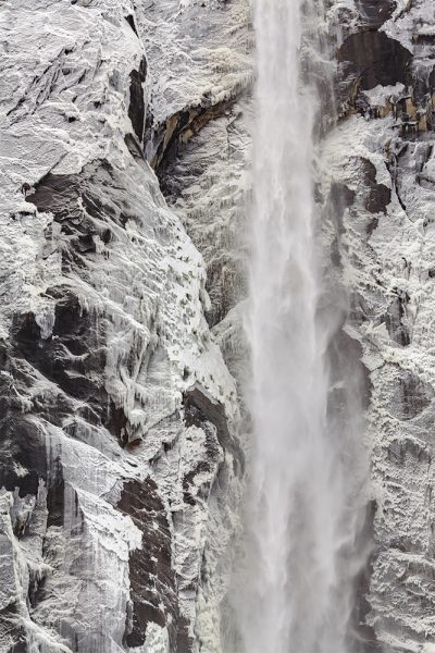 """Bridalveil Fall, Ice Patterns"" by Mike Reeves"